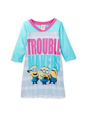 despicable me - minions trouble makers nightgown - girls (6)