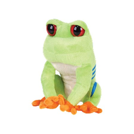 Adventure Planet Plush - Planet Pal - RED EYE TREE FROG ( 7 inch (Red Frog)