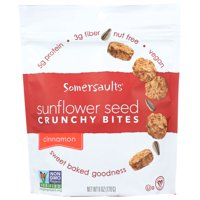 Somersaults Sunflower Seed, Crunchy Bites, Cinnamon, 6 Oz, Pack Of 6