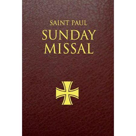 Saint Paul Sunday Missal : Burgundy Leatherflex