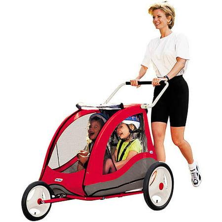 Little Tikes Cozy Cruiser Bicycle Trailer - Walmart.com
