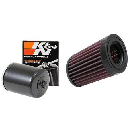 K&N Air and Oil Filter Black Kit for ATV/UTV KAWASAKI Mule 4010 4x4  2012-2013