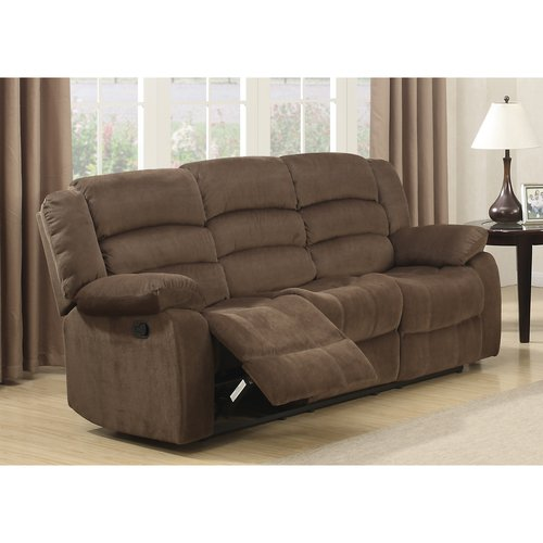 """AC Pacific 71"""" Bill Brown Contemporary Living Room Reclining Sofa"""