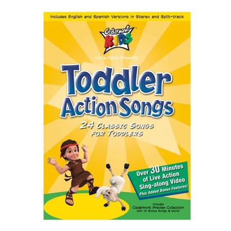 Toddler Action Songs (Audiobook) - Halloween Actions Songs