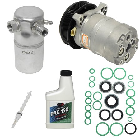 New A/C Compressor and Component Kit 1051058 - Cutlass Ciera Century Regal Cutl Cutlass Ciera Air Conditioning Compressor