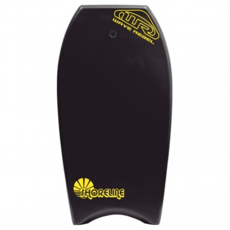 Local Motion Wave Rebel Shoreline 39 Bodyboard - Black
