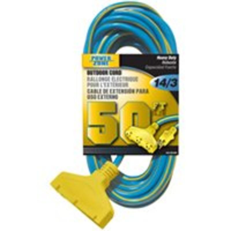 Cord Ext 14Awg 3C 50Ft 15A Power Zone Marine Power Cords/Adapters ORK606730