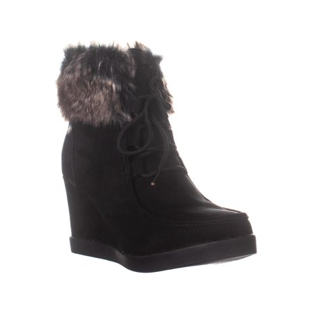 ESPRIT Felice Wedge Ankle Boots, Black - image 6 of 6