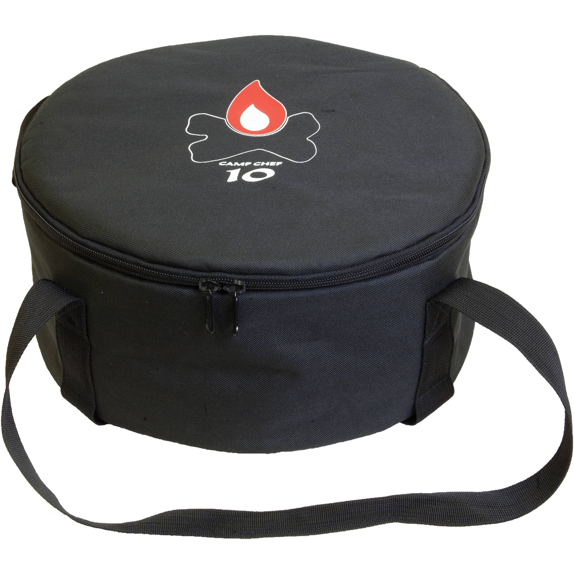 """Camp Chef 10"""" Padded Dutch Oven Carry Bag with Tie Down Straps"""
