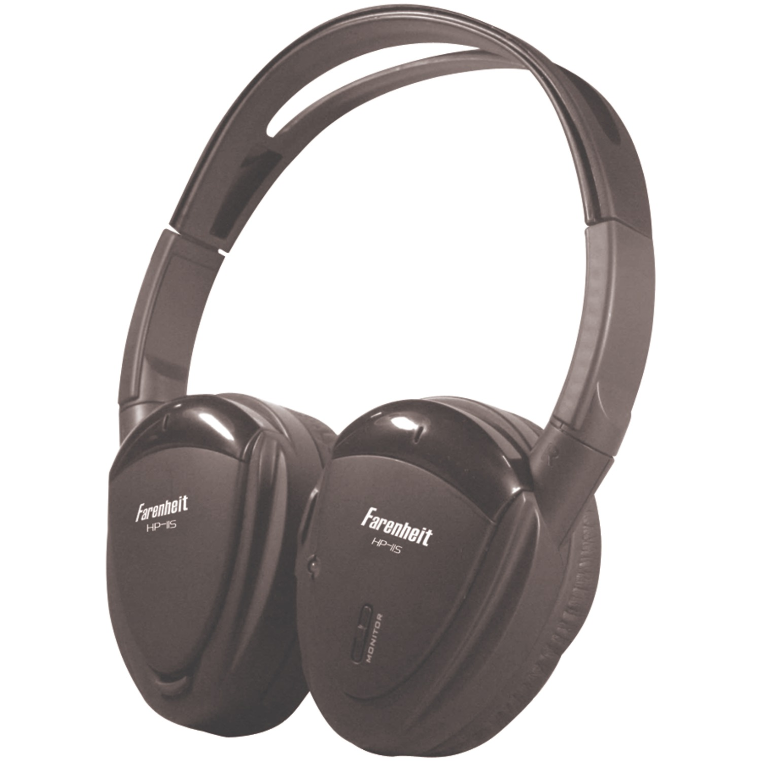Power Acoustik Hp-11s 1-channel Wireless Ir Headphones