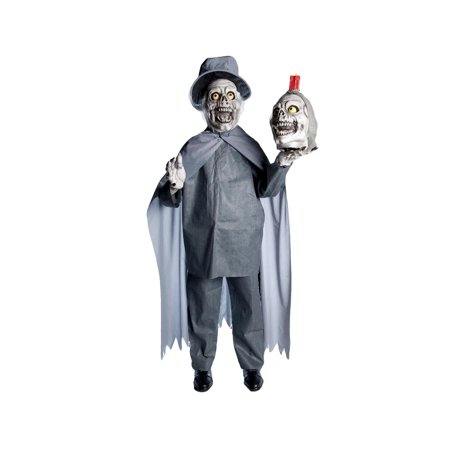 2-Headed Greeter Prop - Halloween Greeter