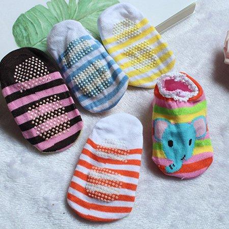 Baby Early Education Cartoon Dispensing Bottom Boat Socks Baby Anti-skid Socks - image 6 of 10