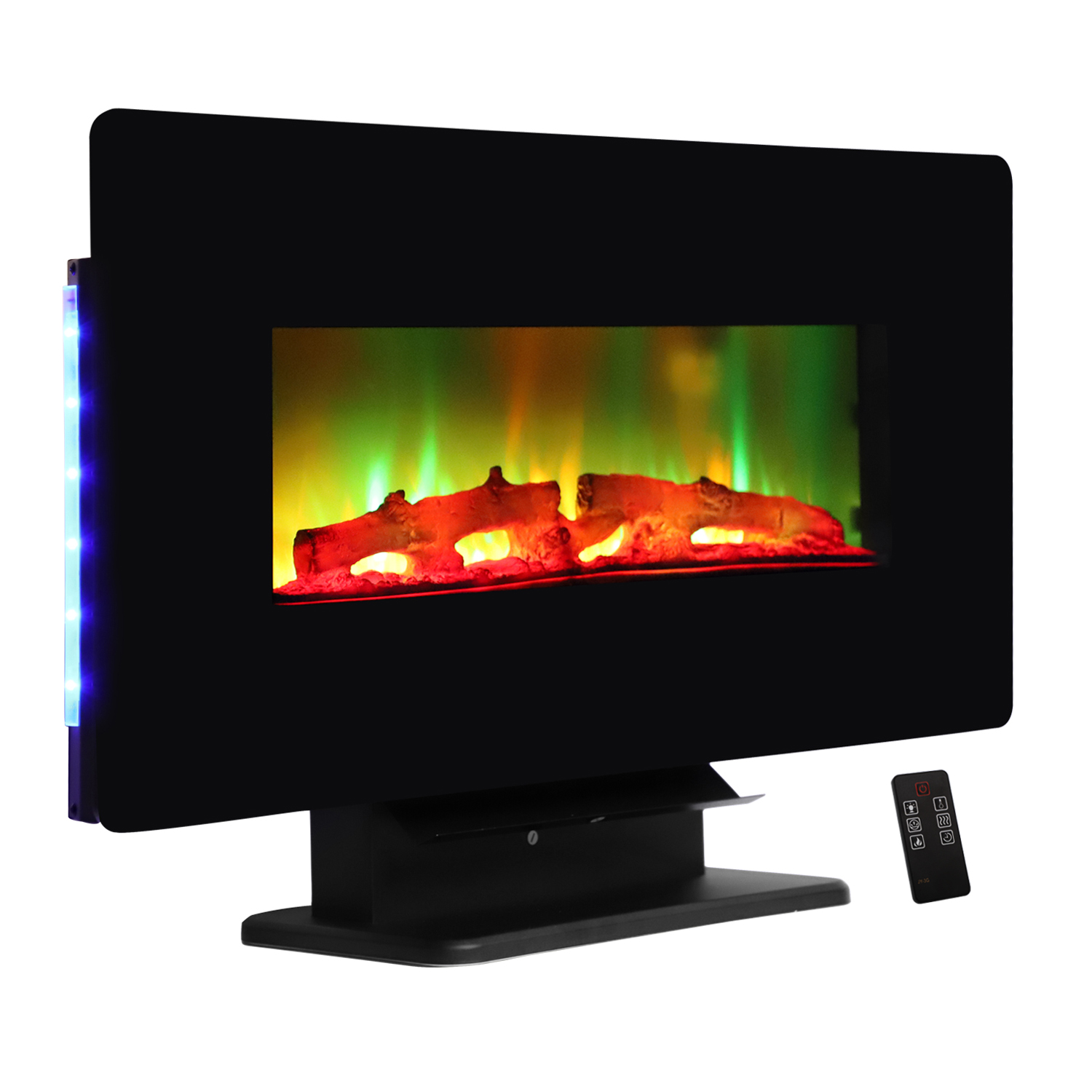 """Zimtown Electric Fireplace,Electric Fireplace Heater,1400W Flame Electric Fireplace with 47"""" Mantle"""