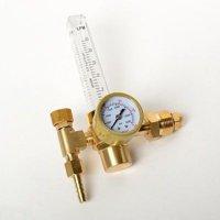 Replacement Argon Gas Flowmeter Gauge Flow Meter Gage for Welder Regulator