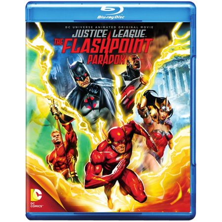 Dcu  Justice League   The Flashpoint Paradox  Blu Ray   Dvd