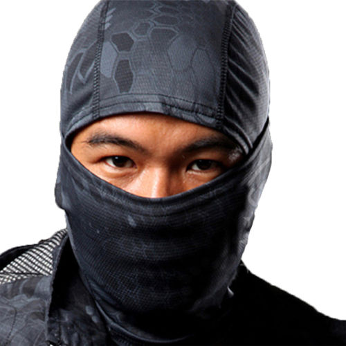 Motorcycle Balaclava Camouflage Army Winter Ski Bike Tactical Full Face Mask Hat