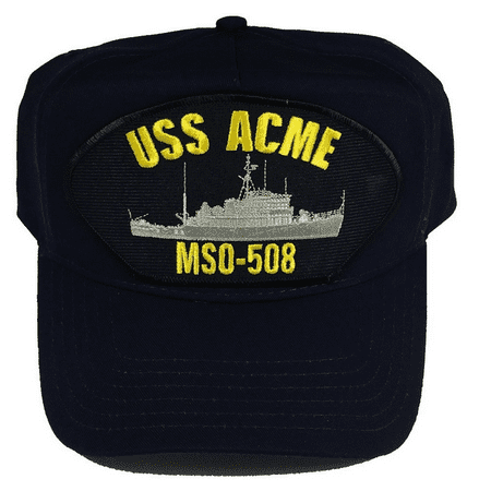 USS ACME MSO-508 HAT CAP USN NAVY SHIP MINE SWEEPER MCM](Miner Hats)