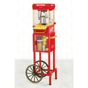 "Nostalgia KPM200CART 48"" Tall Vintage Collection 2.5 oz Popcorn Cart"