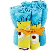 Universal's Minions Wash Cloth Set, 6 Piece