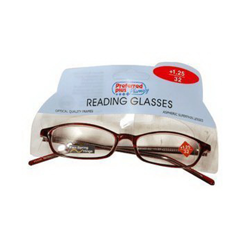 Reading Glasses 1.25 Power By Kpp Frame Size: Rr974, 1 Ea