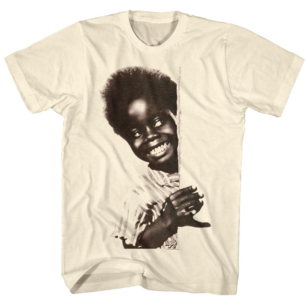 Buckwheat Men's  Buckwheatcake T-shirt Vintage White