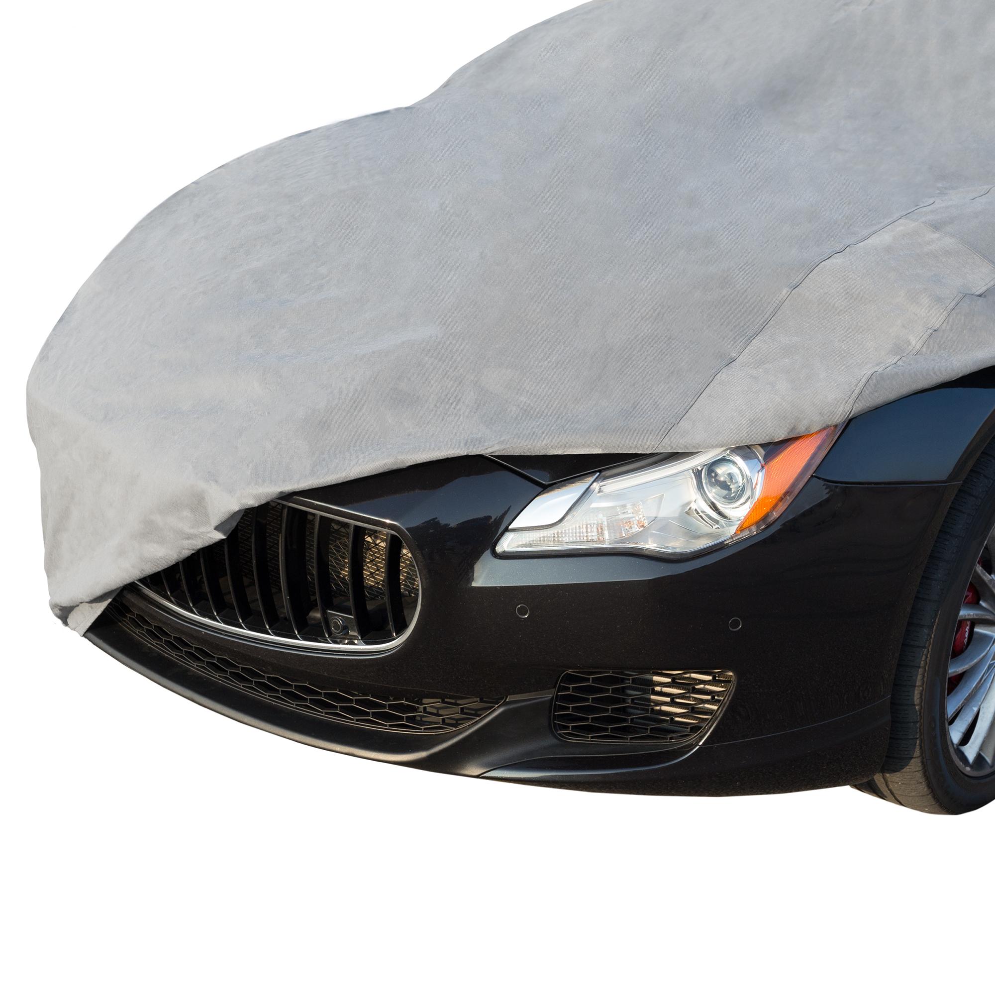 460X165X120 CM WATERPROOF OUTDOOR//INDOOR AUTO CAR SOFT COTTON COVER