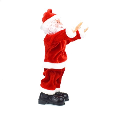 Electric Santa Claus Toy Dancing Music Plush Doll Xmas Decoration for Kids Children Christmas Gift (Battery Not Included) ()