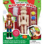 MasterPieces Works of Ahhh…Nutcracker Prince Holiday Wood Paint Kit