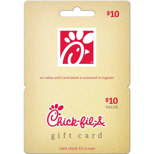 Chick fil a $10 Gift Card