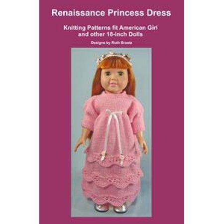 Renaissance Blouse Pattern (Renaissance Princess Dress, Knitting Patterns fit American Girl and other 18-Inch Dolls -)