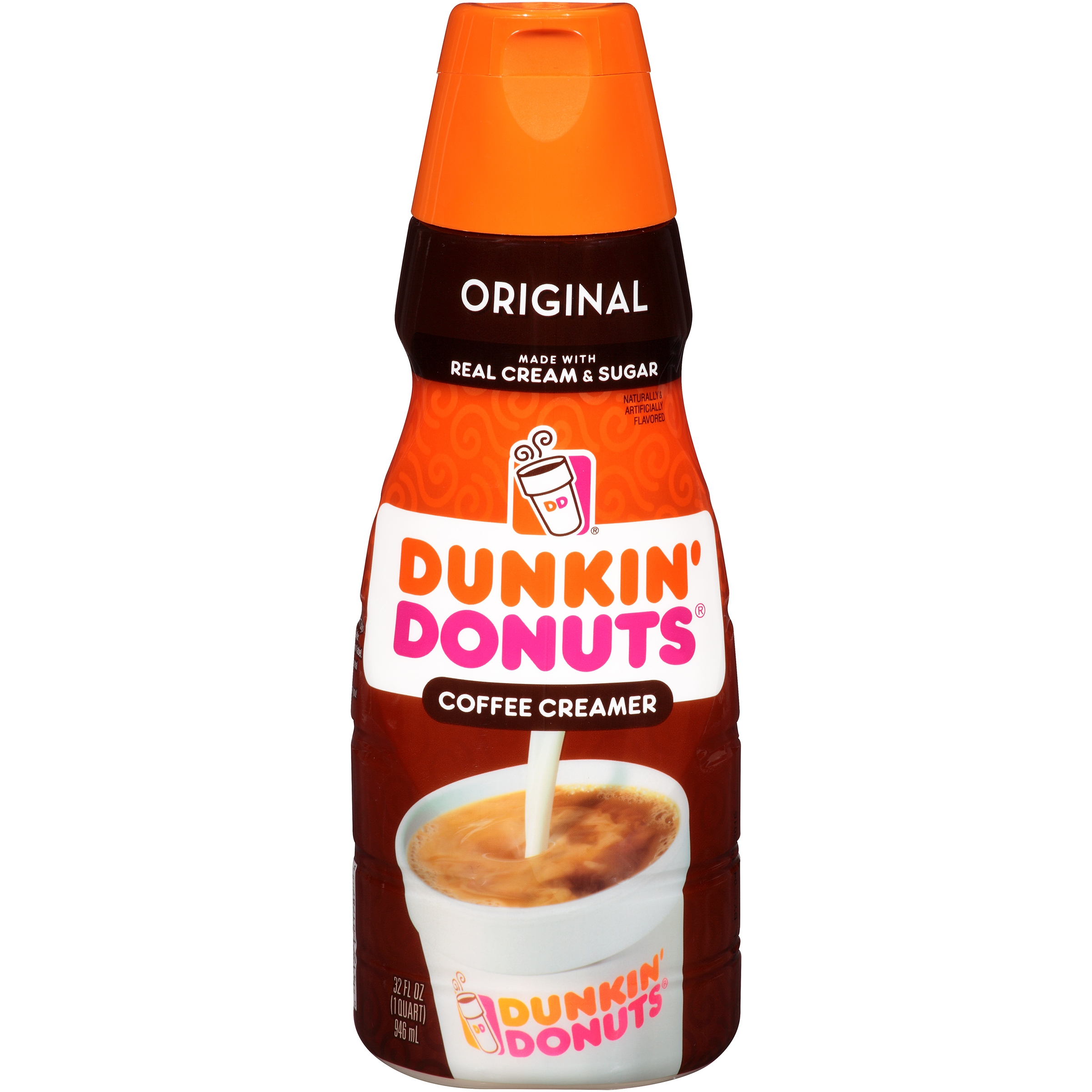 Dunkin' Donuts Original Coffee Creamer, Quart