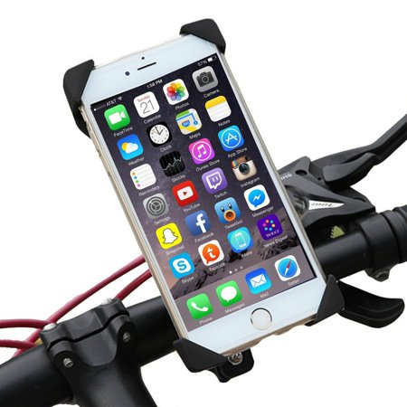 - Encust Universal Cell Phone Bicycle Rack Handlebar & Motorcycle Mount Holder for iPhone 7 6 6S 6S plus 5S 5C Samsung Galaxy Edge S7 S6, HTC Nexus 6 & Other Cell Phones