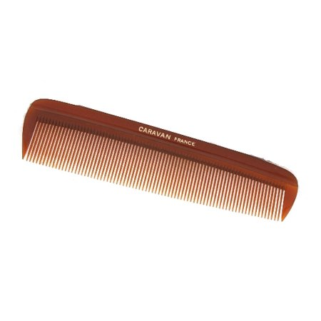 CARAVAN® SMALL POCKET COMB FINE TEETH TORTOISE SHELL (Small Animal Comb)