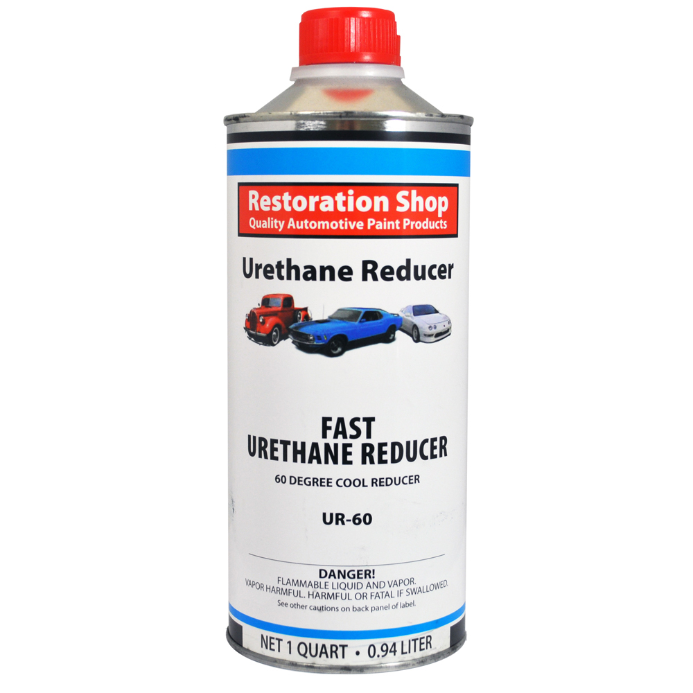 1 Quart FAST Urethane Reducer 60 - 70 Degrees Low Temp Auto Paint Thinner