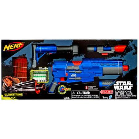 Star Wars NERF Captain Cassian Andor Deluxe Blaster - Star Wars Nerf Guns