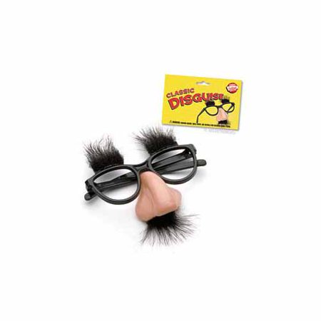 8e3f9c6091d Fuzzy Nose and Glasses Disguise by Accoutrements - 9510 - Walmart.com