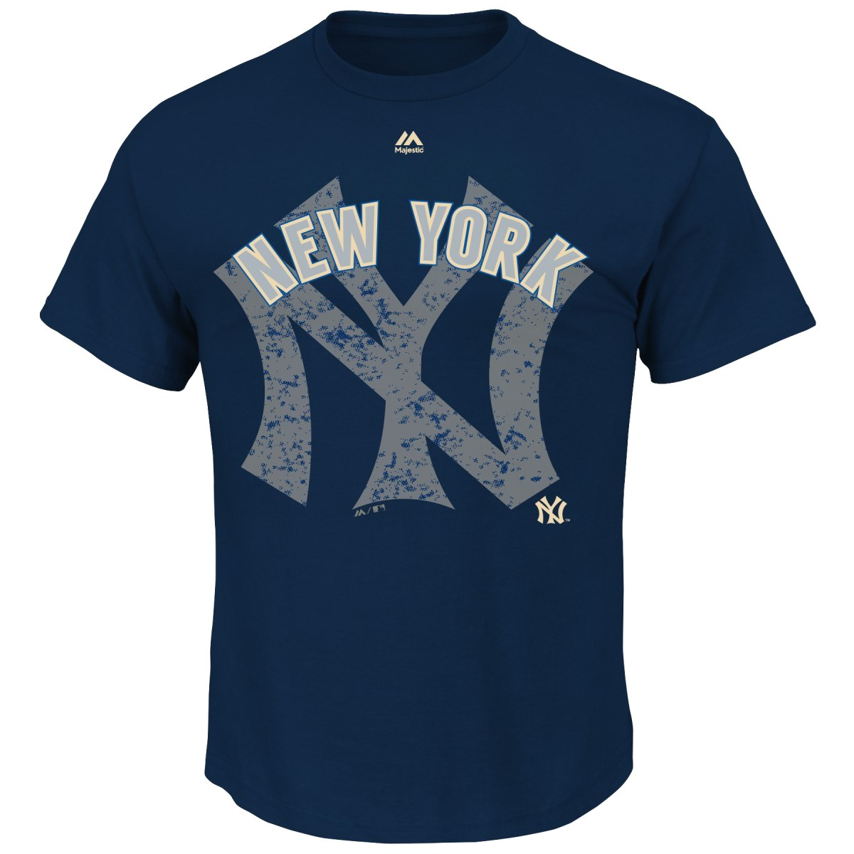 "New York Yankees Majestic MLB ""Domination"" Cooperstown Men's T-Shirt"