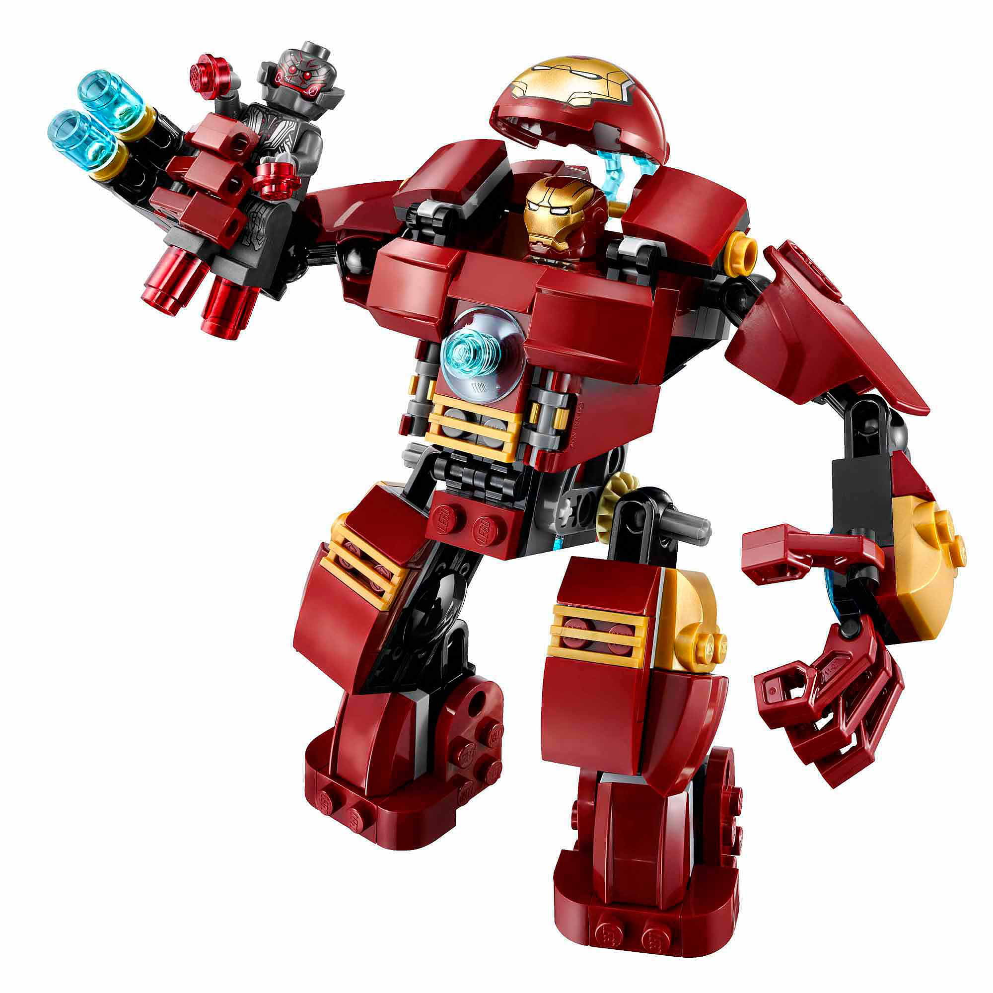 Lego Super Heroes The Hulk Buster Smash Walmart Com