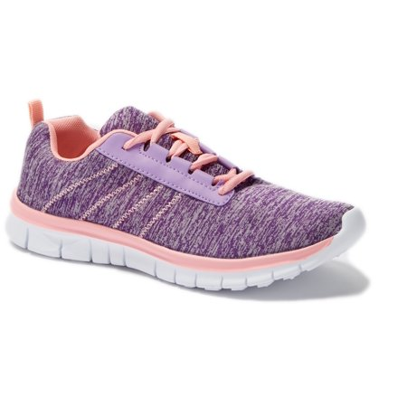 Womens Sneakers Athletic Knit Mesh Running Light Weight Go Easy Walking Casual Comfort Running Shoes 2.0 (9, Purple/Pink F9211)