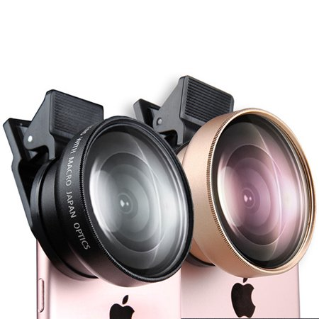 Ultra Wide Angle Camera Lens For Mobile Phone Electric Gold Lens