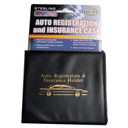 Set of 3 Auto Car Registration Insurance Holder Wallet