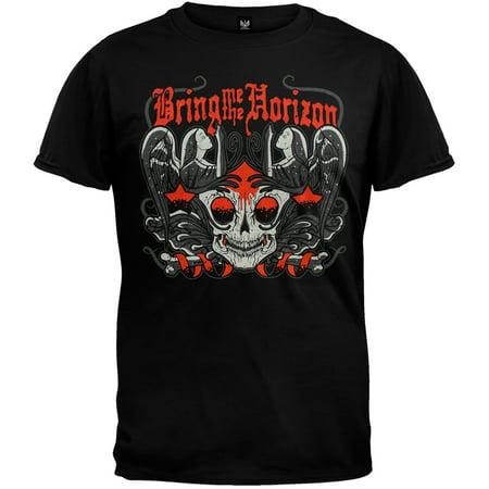 Bring Me The Horizon - Winged Skull Black T-Shirt -