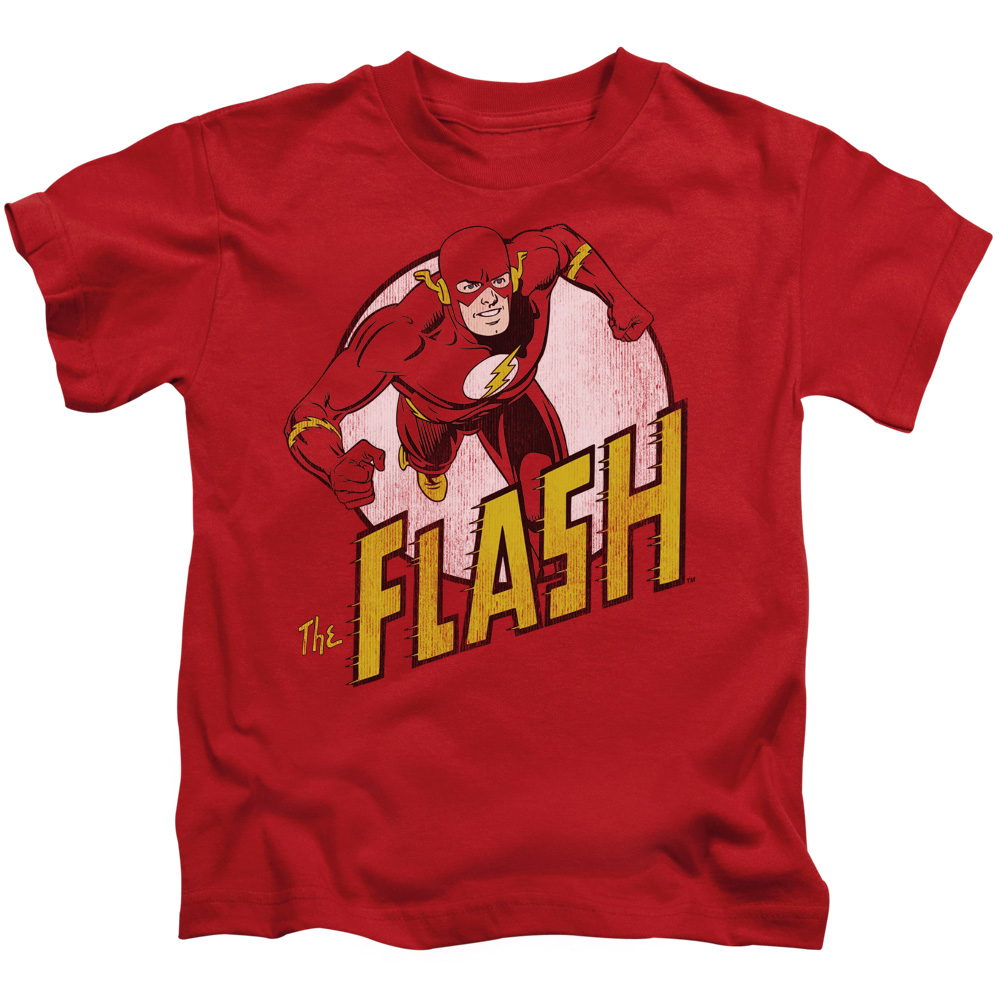 DC/THE FLASH - S/S JUVENILE 18/1 - RED - MD (5/6)