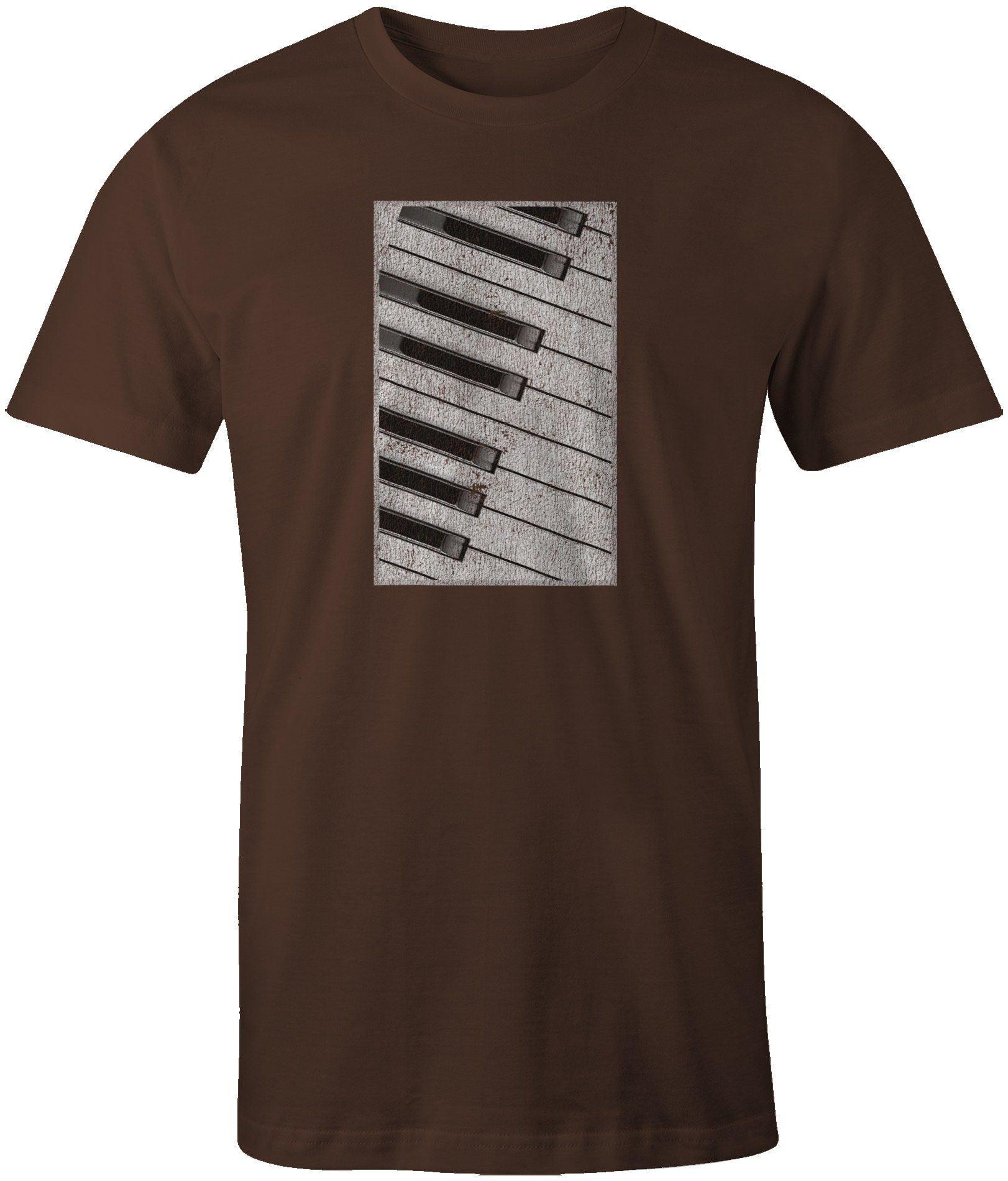 Cat And Piano Hanes Tagless Tee T-Shirt