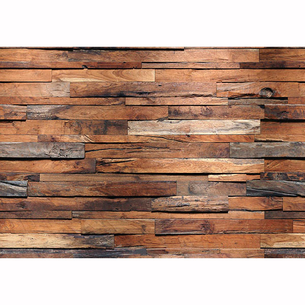 Reclaimed wood wall mural walmart com