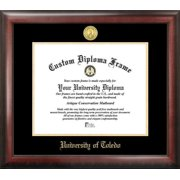 University of Toledo Gold Embossed Diploma Frame