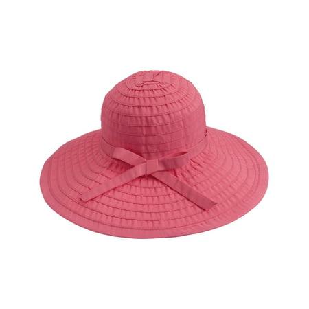 07b144933dd61 BASILICA - Women s Summer Foldable Beach Hat UPF 50+ Sun Protection ...