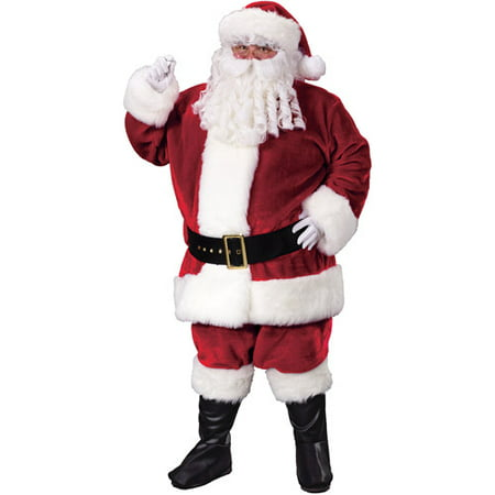 Crimson Plus Santa Suit Adult Costume