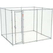 Lucky Dog 6`H x 5`W x 10`L/6`H x 8`W x 6.5`L Chain Link Boxed Kennel