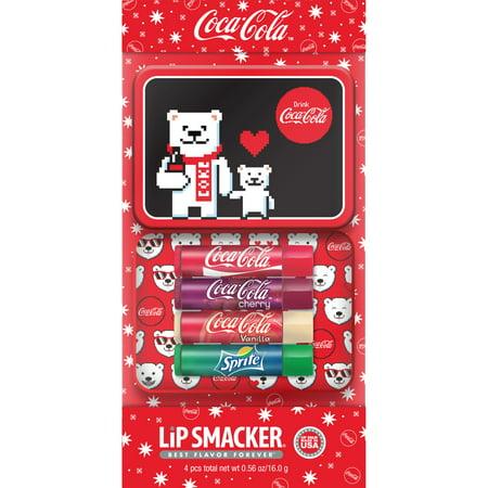 Lip Smacker Coca-Cola 4-Piece Lip Balm Tin